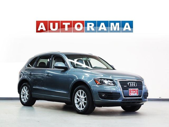2012 Audi Q5 NAVIGATION LEATHER PAN SUNROOF 4WD in North York, Ontario