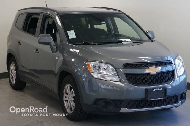 2012 CHEVROLET ORLANDO LT  Local, BC Vehicle in Port Moody, British Columbia