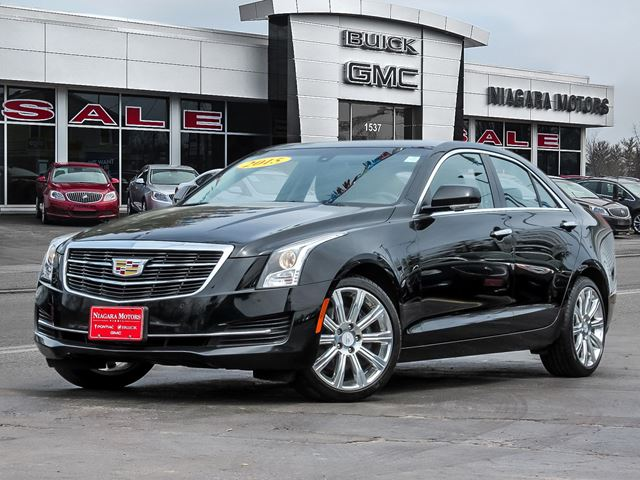 2015 CADILLAC ATS AWD LUXURY EDITION..ONE OWNER in Virgil, Ontario