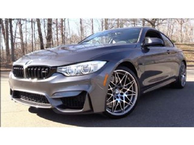 2017 BMW M4 COMPETITION PACKAGE in Mississauga, Ontario