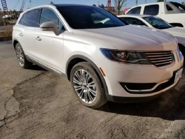 2018 LINCOLN MKX AWD Reserve in Mississauga, Ontario