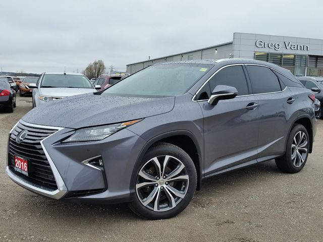 2016 LEXUS RX 350 AWD w/NAV, ,pwr moonroof,climate control,heated-cooled seats,pwr folding mirrors,3rd row seating in Cambridge, Ontario