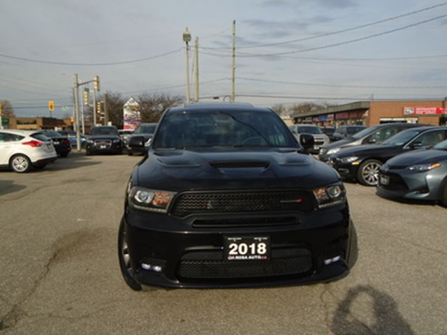 2018 Dodge Durango R/T AWD NO ACCIDENTS  SUNROOF , AUXILIARY BACK AND in Oakville, Ontario