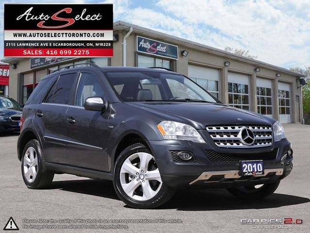2010 MERCEDES-BENZ M-CLASS DIESEL ML350 4MATIC **BLUETEC** ONLY 197K! *CLN CARPROOF* in Scarborough, Ontario