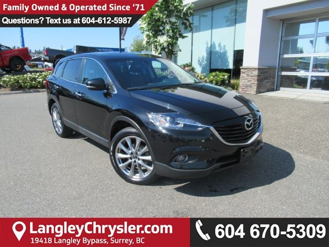 2015 MAZDA CX-9 GT <B>*ACCIDENT FREE*LOW KMS*AWD*<b> in Surrey, British Columbia