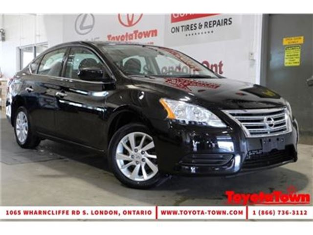 2015 NISSAN SENTRA SINGLE OWNER 1.8 SV in London, Ontario
