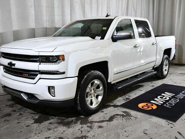 2016 CHEVROLET SILVERADO 1500 2LZ 4x4 Crew Cab 6.6 ft. box 153 in. WB in Red Deer, Alberta