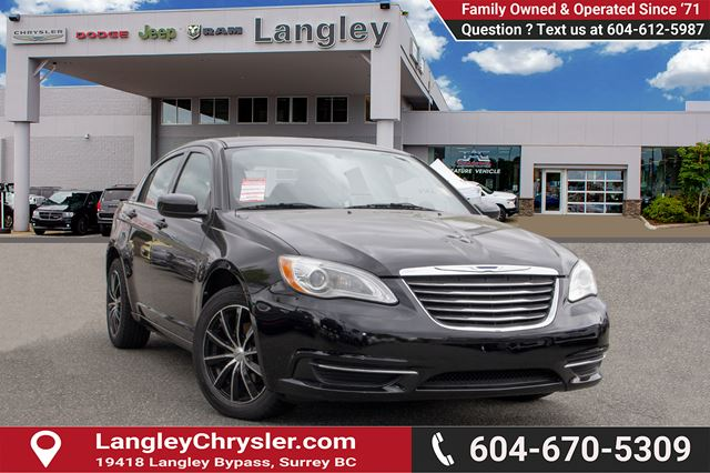 2013 CHRYSLER 200 LX <B>*AIR CONDITIONING*POWER GROUP*LOCAL*<b> in Surrey, British Columbia