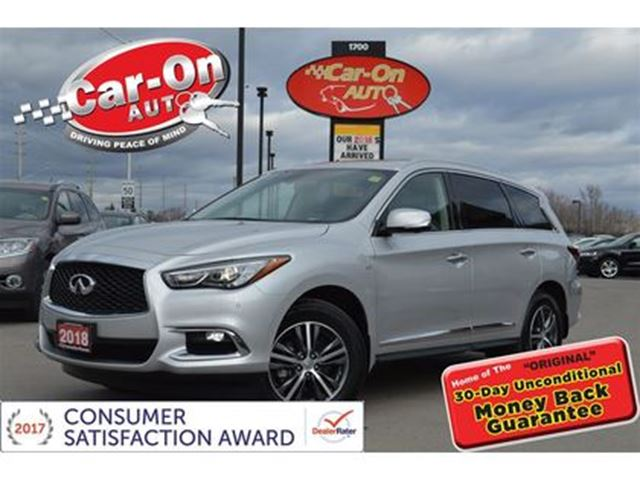 2018 INFINITI QX60 AWD LEATHER NAV SUNROOF REAR CAM HTD SEATS LOADED in Ottawa, Ontario