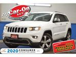 2014 Jeep Grand Cherokee Limited 4X4 LEATHER NAV HTD SEATS REAR CAM LOADED in Ottawa, Ontario