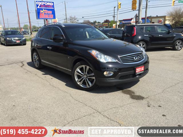 2014 INFINITI QX50 Journey   AWD   NAV   LEATHER   ROOF   CAM in London, Ontario