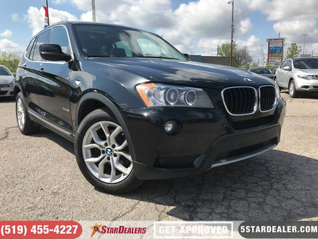 2013 BMW X3 xDrive28i  LEATHER   NAV   BLUETOOTH in London, Ontario