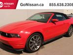 2010 Ford Mustang GT: Convertible, LEATHER, 19 ALLOYS, SHAKER SOUND SYSTEM! in Edmonton, Alberta