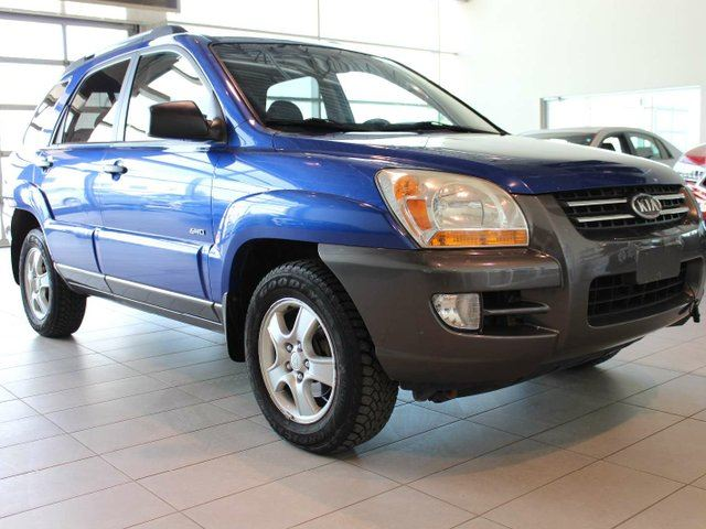 2006 KIA SPORTAGE MP - Heated Leather Seats, Sunroof, Remote Start in Red Deer, Alberta