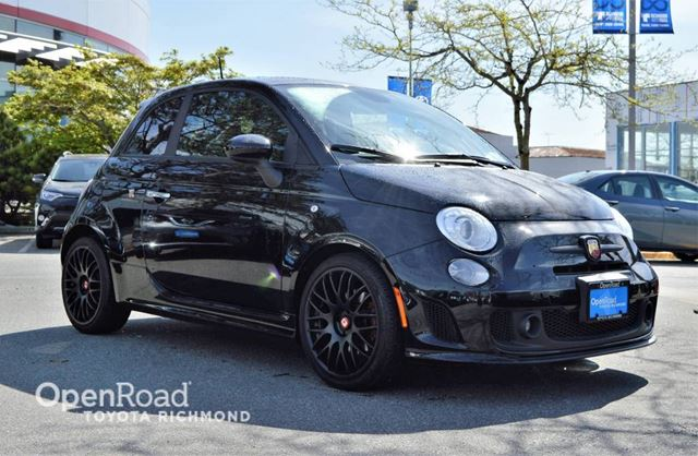 2013 FIAT 500 Abarth, Turbocharged Gas, Leather Seats, Sunroo in Richmond, British Columbia