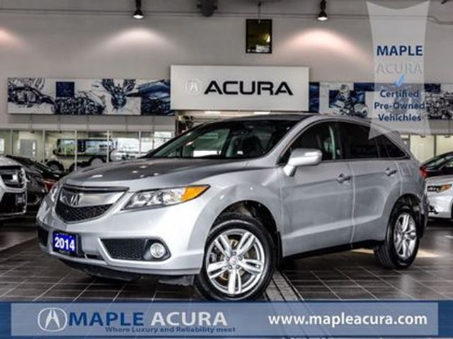 2014 Acura RDX Leather seats, back up cam, sunroof, AWD in Maple, Ontario