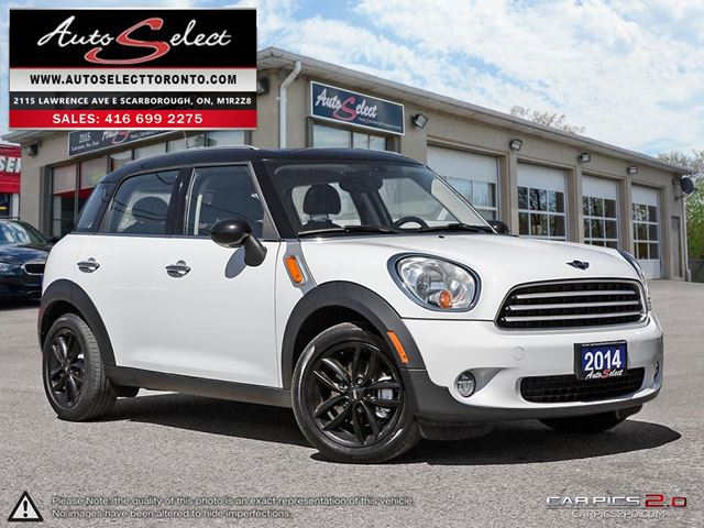 2014 MINI COOPER Countryman Cooper ONLY 78K! **6 SPEED** NAVIGATION PKG *4 DR COOPER* in Scarborough, Ontario