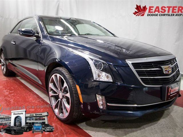 2015 CADILLAC ATS 2.0 TURBO AWD LUXURY LOADED LEATHER ALLOY WHEELS in Winnipeg, Manitoba