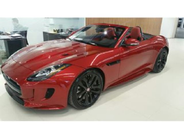 2017 JAGUAR F-TYPE S AWD Convertible, 3.0L Supercharged in Mississauga, Ontario