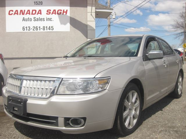 2008 LINCOLN MKZ LINCOLN MKZ, ONE OWNER, LEATHER, SUNROOF, 12M WRTY+SAFETY $5990 in Ottawa, Ontario