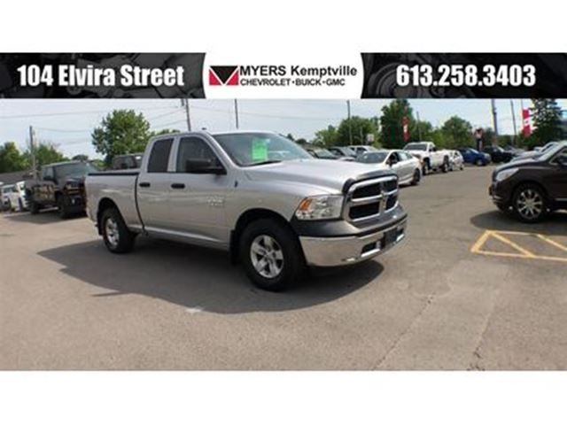 2013 Dodge RAM 1500 ST V8 4x4 with Trailer Tow! in Kemptville, Ontario