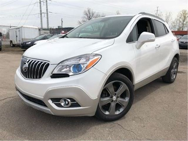 2014 BUICK ENCORE Leather MOONROOF BACKUP CAMERA in St Catharines, Ontario