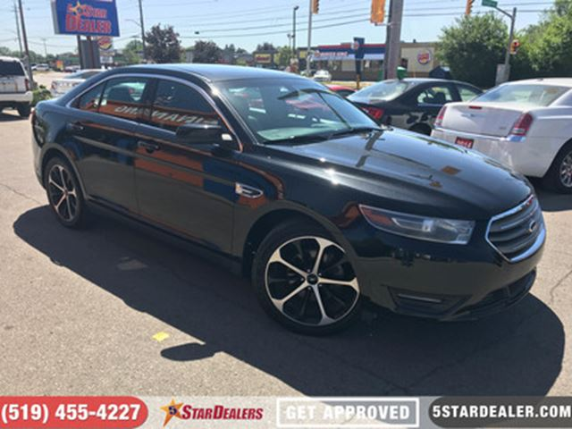 2015 FORD TAURUS SEL   LEATHER   CAM   SAT RADIO in London, Ontario