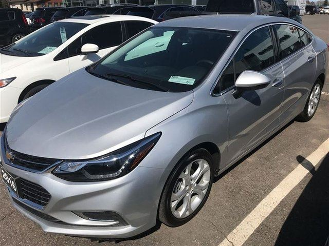 2016 CHEVROLET CRUZE Premier Auto Leather, Back Up Camera in Thunder Bay, Ontario