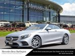 2018 Mercedes-Benz S-Class Cabriolet in Burlington, Ontario