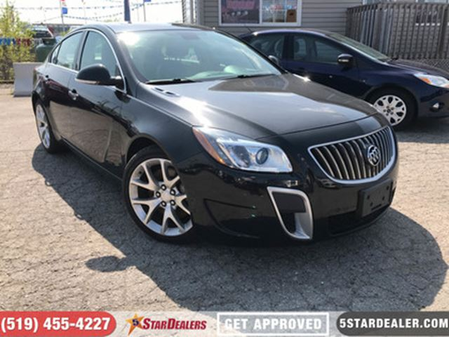 2013 BUICK REGAL GS   NAV   LEATHER   ROOF in London, Ontario
