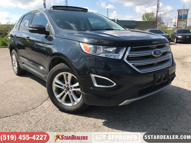2015 FORD EDGE SEL   NAV   LEATHER   ROOF   ONE OWNER in London, Ontario