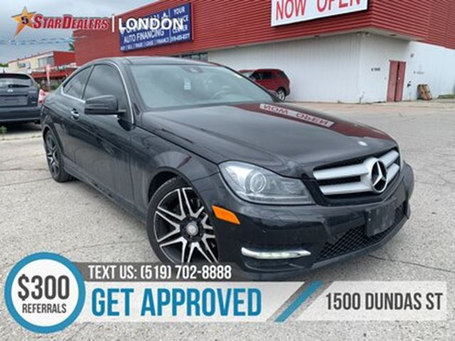 2013 MERCEDES-BENZ C-CLASS C 350 4MATIC   NAV   LEATHER   ROOF   ONE OWNER in London, Ontario