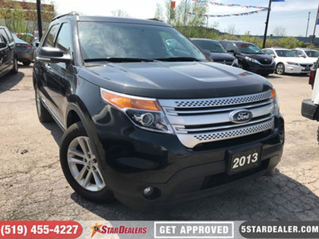 2013 FORD EXPLORER XLT   AWD   7PASS   HEATED SEATS in London, Ontario