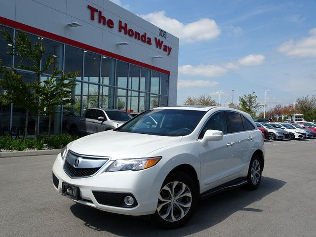 2013 Acura RDX 6-Spd AT AWD w/ Technology Package - Abbotsford ...