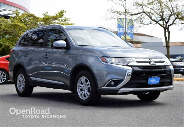 2016 MITSUBISHI OUTLANDER SE, Push button start, Heated front seats, Blue in Richmond, British Columbia