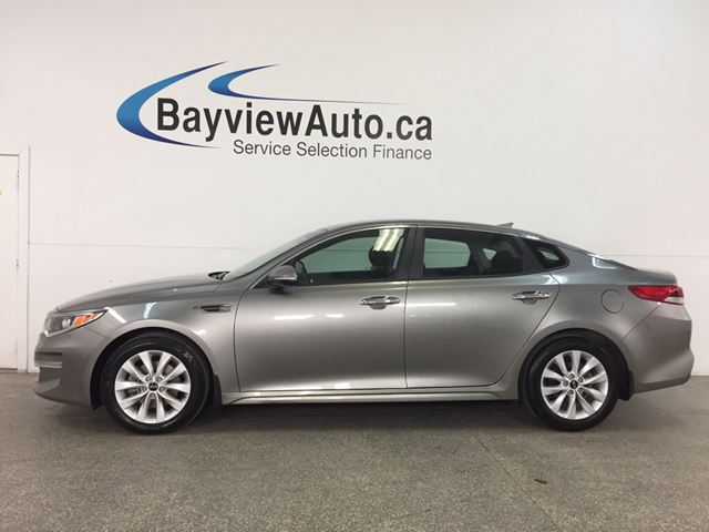 2018 KIA OPTIMA LX - PUSH START! REV CAM! BLUETOOTH! HTD SEATS!  in Belleville, Ontario