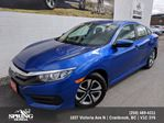 2016 Honda Civic LX $133 BI-WEEKLY in Cranbrook, British Columbia