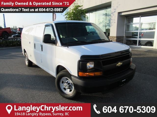 2013 CHEVROLET EXPRESS 2500 HD LT in Surrey, British Columbia