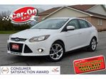 2013 Ford Focus Titanium LEATHER SUNROOF HTD SETAS REAR CAM SYNC in Ottawa, Ontario