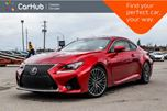 2016 Lexus RC F Navi Sunroof Backup Cam Bluetooth R-Start Leather Heated Front seats 19Alloy in Bolton, Ontario