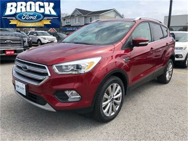 2017 FORD Escape Titanium - Nav, Blind Spot Detection in Niagara Falls, Ontario