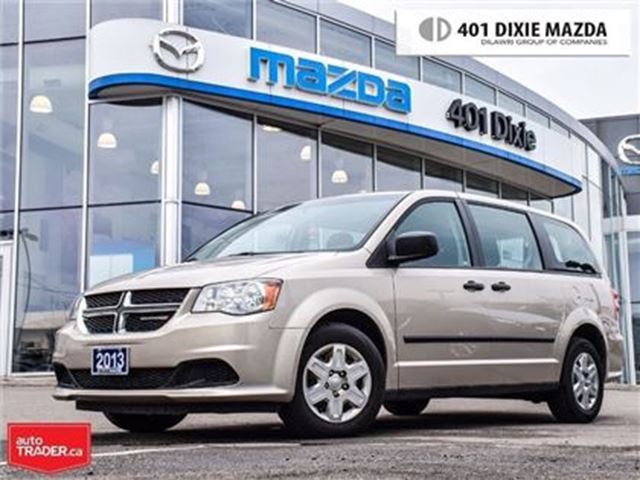 2013 DODGE Grand Caravan SE,NO ACCIDENTS, FINANCE AVAILABLE,LOW MILEAGE in Mississauga, Ontario