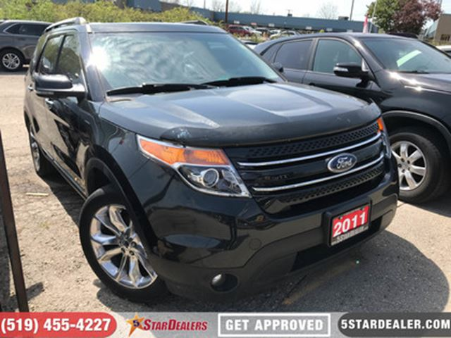 2011 FORD EXPLORER Limited V6   AWD   LEATHER   NAV   ROOF in London, Ontario