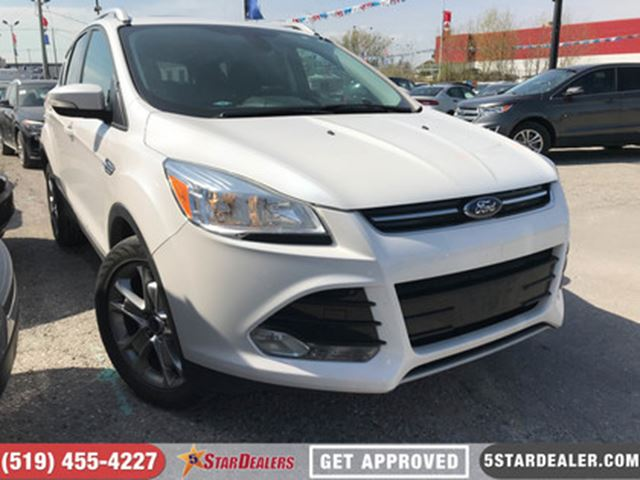 2014 FORD ESCAPE Titanium   LEATHER   ROOF   NAV   ECOBOOST in London, Ontario