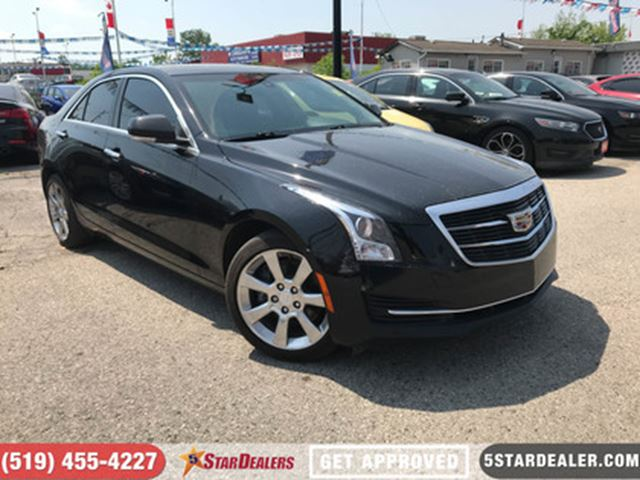 2015 CADILLAC ATS 2.0L Turbo Luxury   AWD   LEATHER   ROOF   NAV in London, Ontario