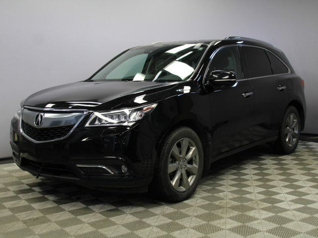 2016 ACURA MDX Elite SH-AWD 7 Seats - Local One Owner Trade In | Factory Remote Starter | Navigation | Back Up Camera | Birds Eye View Camera | Rear DVD | Heated/Cooled Front Seats | Heated Rear Seats | 3 Zone Climate Control with AC | Memory Seat | Parking Sensors in Edmonton, Alberta