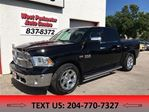 2014 Dodge RAM 1500 Laramie Crew Cab **Learther/Sunroof/Navigation** in Winnipeg, Manitoba