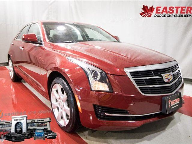 2015 CADILLAC ATS 2.0L TURBO AWD CUE RADIO REMOTE STRT in Winnipeg, Manitoba