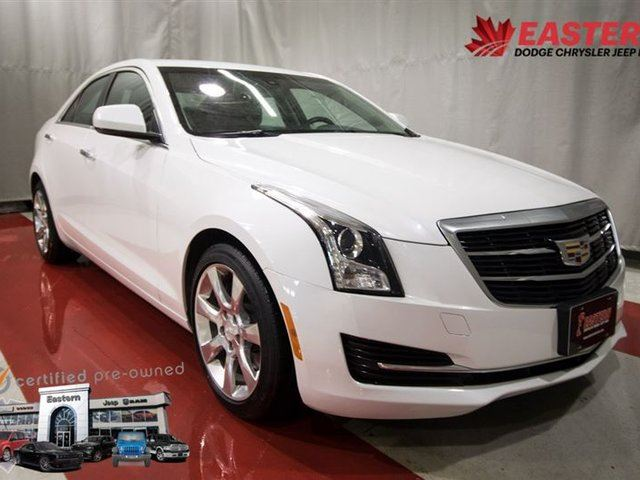 2015 CADILLAC ATS 2.0L TURBO LUXURY LOADED LEATHER ALLOY WHEELS in Winnipeg, Manitoba
