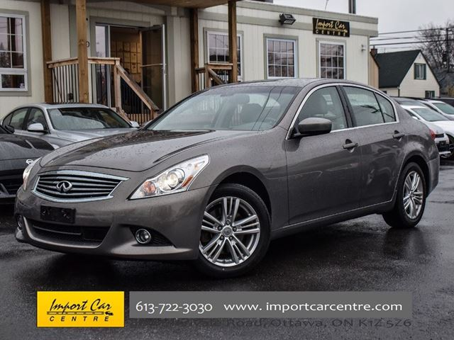 2010 INFINITI G37 Luxury ADAPTIVE CRUISE NAVI LOW KMS!!! in Ottawa, Ontario